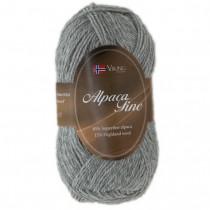 Viking garn - Alpaca Fine 613 - Lys grå