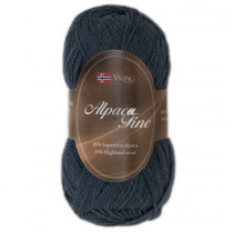 Viking garn - Alpaca Fine 626 - Gråblå