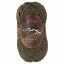 Viking garn - Alpaca Fine 630 - Mørk oliven
