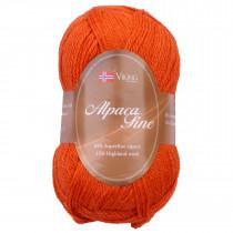 Viking garn - Alpaca Fine 651 - Oransje