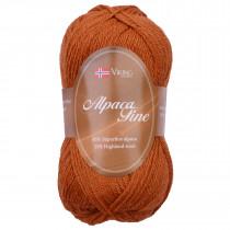 Viking garn - Alpaca Fine 653 - Rust
