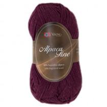 Viking garn - Alpaca Fine 660 - Plomme