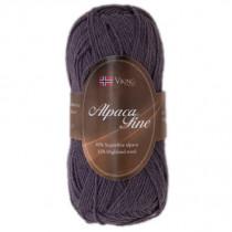 Viking garn - Alpaca Fine 669 - Mørk lilla