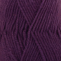 Drops Karisma uni colour - 76 Mørk lilla