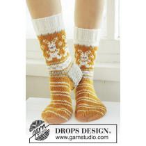 Hippity Hoppity sokker med påskeharen - Drops 0-764