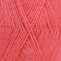 Drops Alpaca uni colour - 9022 Korall