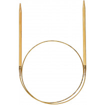 Addi rundpinne i bambus 60cm / 5.0mm