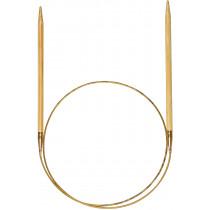 Addi rundpinne i bambus 80cm / 5.0mm