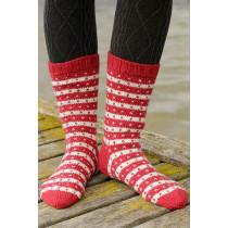 Candy Cane Lane sokker - Drops 203-26