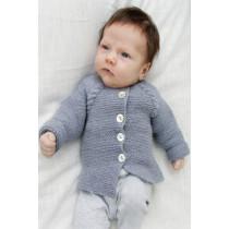 Little Explorer babyjakke med fletter - Drops baby 29-12