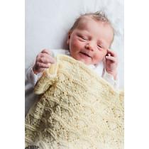 Sunrise strikket babyteppe - Drops baby 33-16