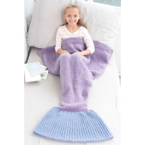Cute Mermaid Blanket havfrue pledd / teppe - Drops children 28-12