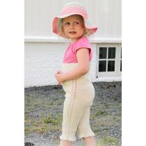 Sweet Promenade strikket tights til barn - Drops Children 28-8