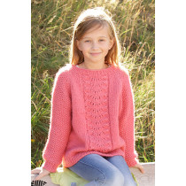 Clover strikkegenser til jente - Drops children 34-4