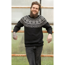 Frost genser fra Viking 1823-3 svart