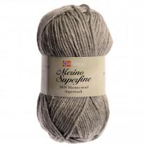Viking garn - Merino superfine - 613 Lys grå