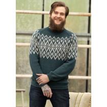 0145916e Teak genser til herre fra Viking 1824-5
