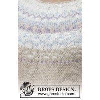 Nougat genser fra Drops 191-12