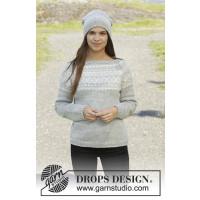 Silver Dream genser fra Drops 157-2 / Setesdalgenser