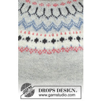 Mina jakke / kofte fra Drops 191-21