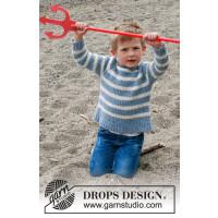 Sky stripes barnegenser - Drops Children 34-21