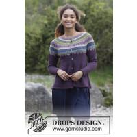 Blueberry Fizz jakke fra Drops 180-8