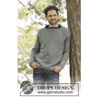 Keystone strikket genser til herre - Drops 174-3