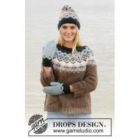 Winter Fjords genser - Drops 207-21
