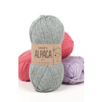 Drops Alpaca uni colour - 3140 Lys rosa