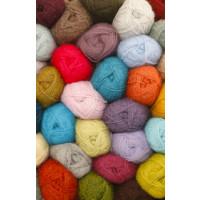 Drops Alpaca uni colour - 6790 Kongeblå