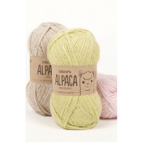 Drops Alpaca uni colour - 8105 Isblå
