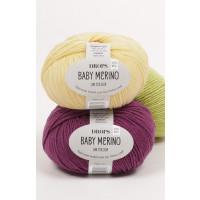 Drops Baby merino uni colour - 26 Lys gammelrosa