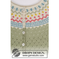 Spring Valley Cardigan by Drops / 175 / 8