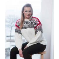 Hvit Setesdalsgenser - Viking 1403-7b