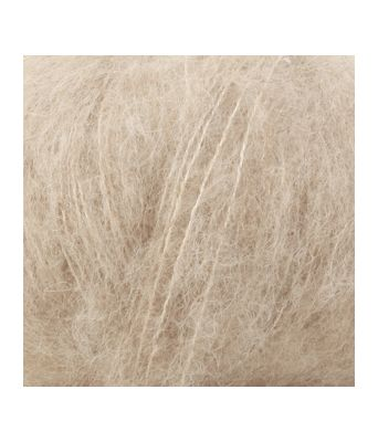 Drops Brushed alpaca silk uni colour - 04 Lys beige