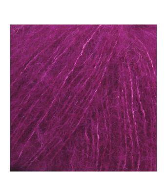 Drops Brushed alpaca silk uni colour - 09 Lilla