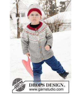 Narvik setesdalkofte til barn - Drops Children 32-11