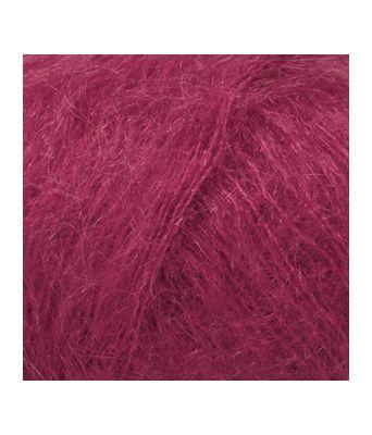 Drops Kid-silk uni colour - 17 Mørk rosa