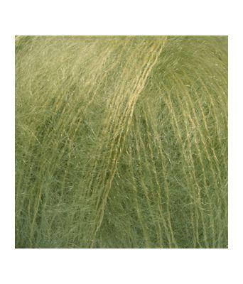 Drops Kid-silk uni colour - 18 Eplegrønn