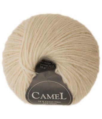 Viking garn - Camel 202 - Naturhvit