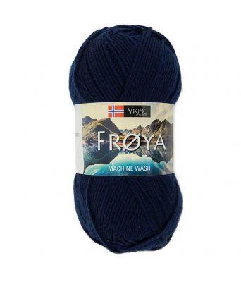 Viking garn - Frøya 206 - Marineblå