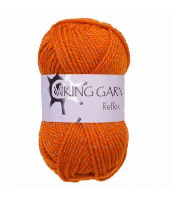 Viking garn - Reflex 451 Oransje