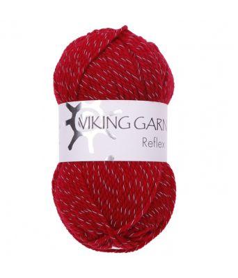 Viking garn - Reflex 460 Rød