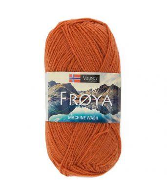 Viking garn - Frøya 236 - Oransje
