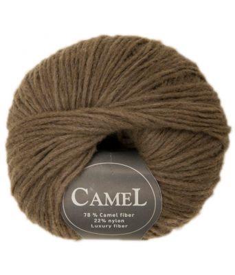 Viking garn - Camel 243 - Brun / Grønn