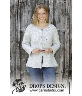 Fritid jakke fra DROPS 195-32