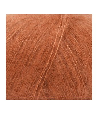 Drops Kid-silk - 33 Rust uni colour