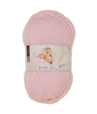 Viking garn - Baby Ull 364 - Dus rosa