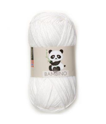 Viking garn - Bambino 400 - Hvit