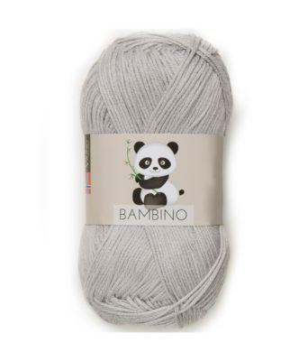 Viking garn - Bambino 413 - Lys grå